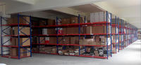 New design car parts 4s store steel rack for export