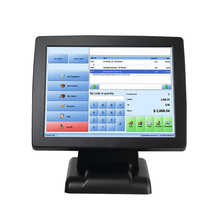 Android touch screen supermarket modern cheap electronic pos system/cash register machine table for sale with scanner