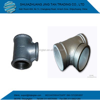 1 inch Malleable Iron Pipe Fittings Tee