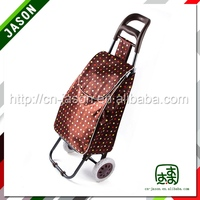 factory direct sale foldable vegetable shopping trolley bag