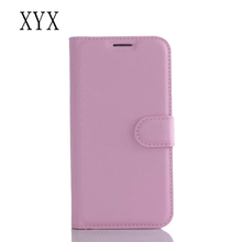 competitive price wallet litchi design flip style for BlackBerry 9860