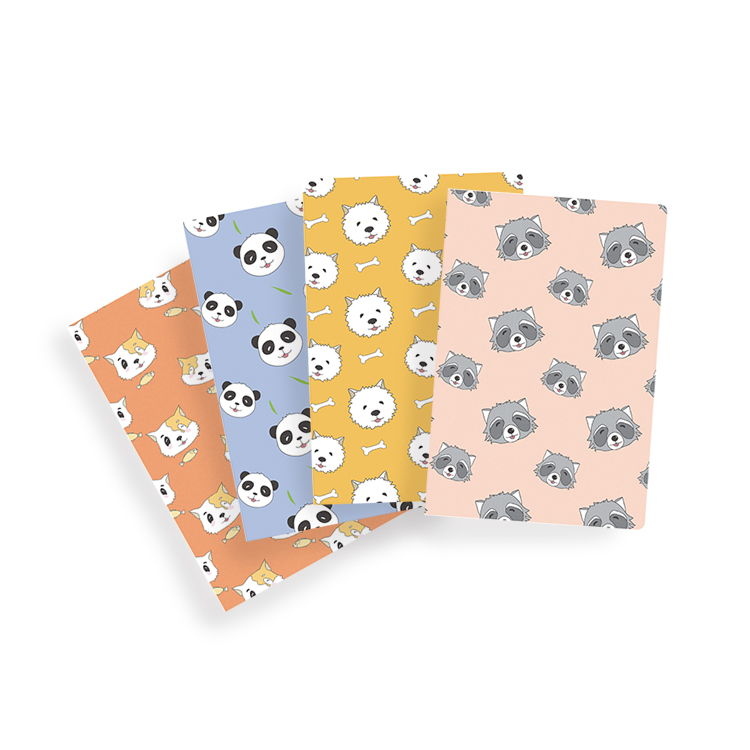 A5 Sewing Binding Small Journals Notebook Blank Cute Composition Books  In Bulk