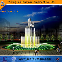 stainless steel customized garden water fountain