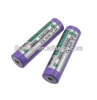 WU IMR 18650 3.7V 1800mah Flat Top Li-Ion rechargeable battery