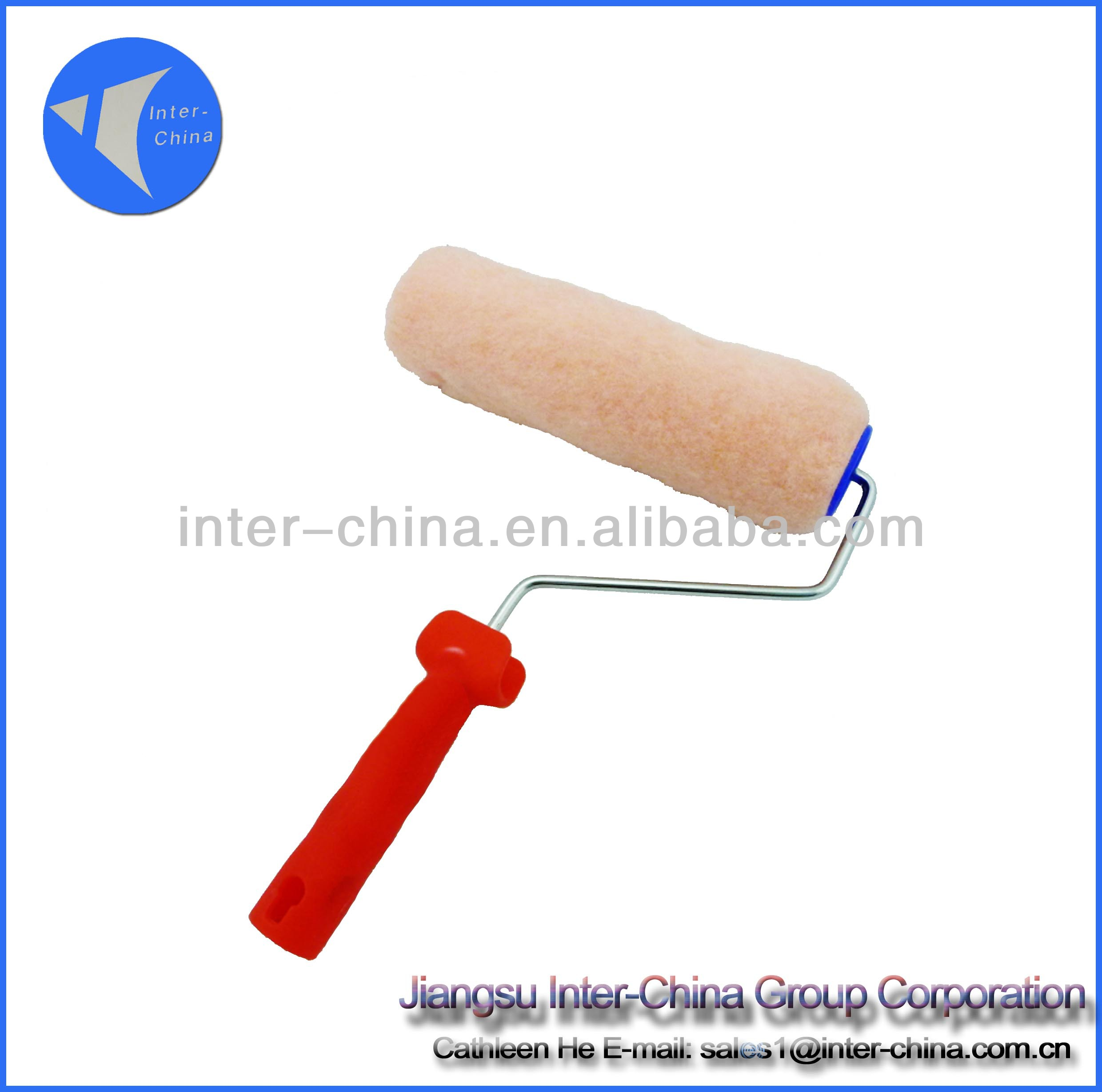 promotional, professional paint roller brush with handle
