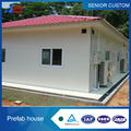 Customized house 3 bedroom 2 bedroom HEGE perfabhouse in Africa perfabhouse from China
