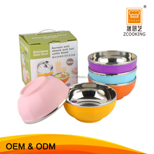 11.5cm Different Size Colorful Children's Plastic Insulated Bowl