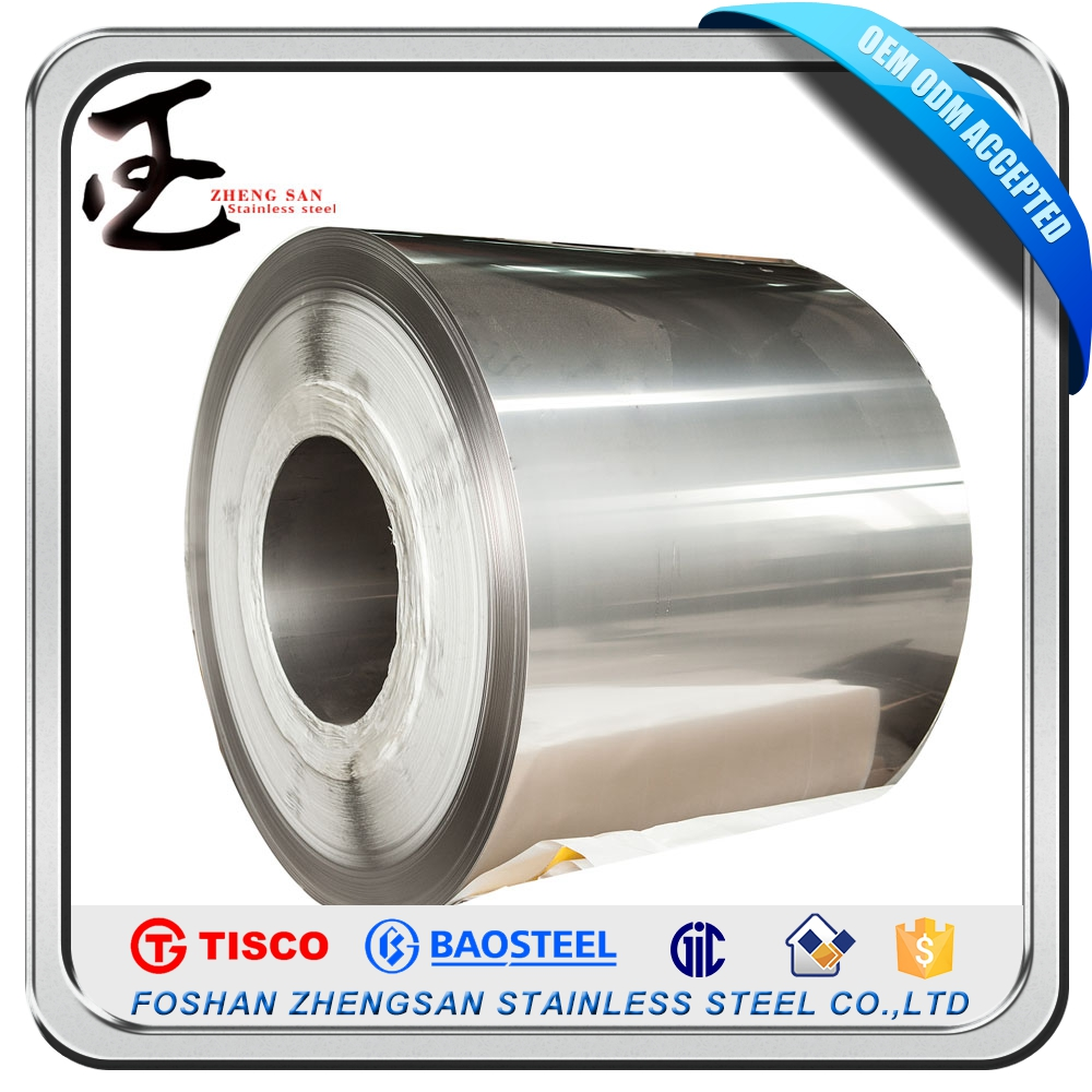 Heat Resistance Cold Rolled Density Tisco 304 Stainless Steel Coils