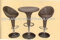 rattan furniture or wicker furniture outdoor set