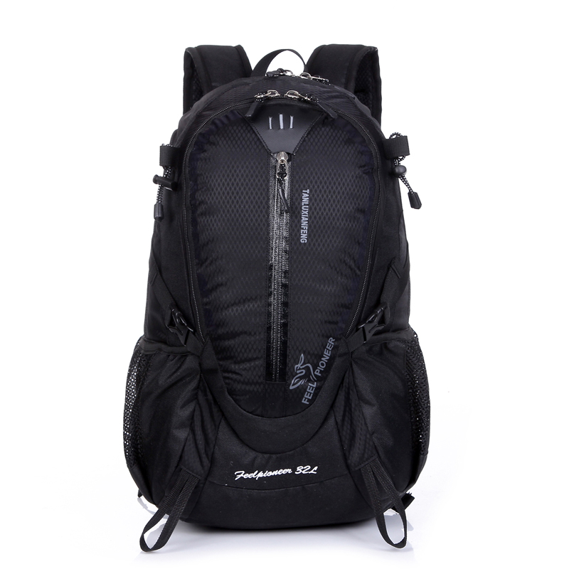 2019 wholesale Outdoor travelling mountain bag waterproof sport hiking camping backpack for trekking