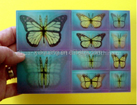 Promotional 3D motion moving funny 3d lenticular card