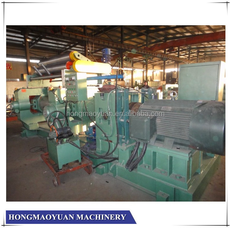 Two Roll Rubber Open Mixing Mill Machine