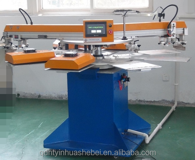Cheap !! Automatic Rotary Carousel Label Silk Screen Printing Machine For All Life Warranty