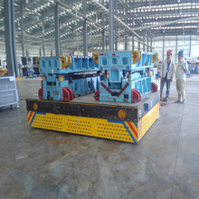 2tons chinese electric flat wagon for machinery