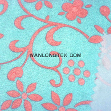 poly imitation embossed suede fabric