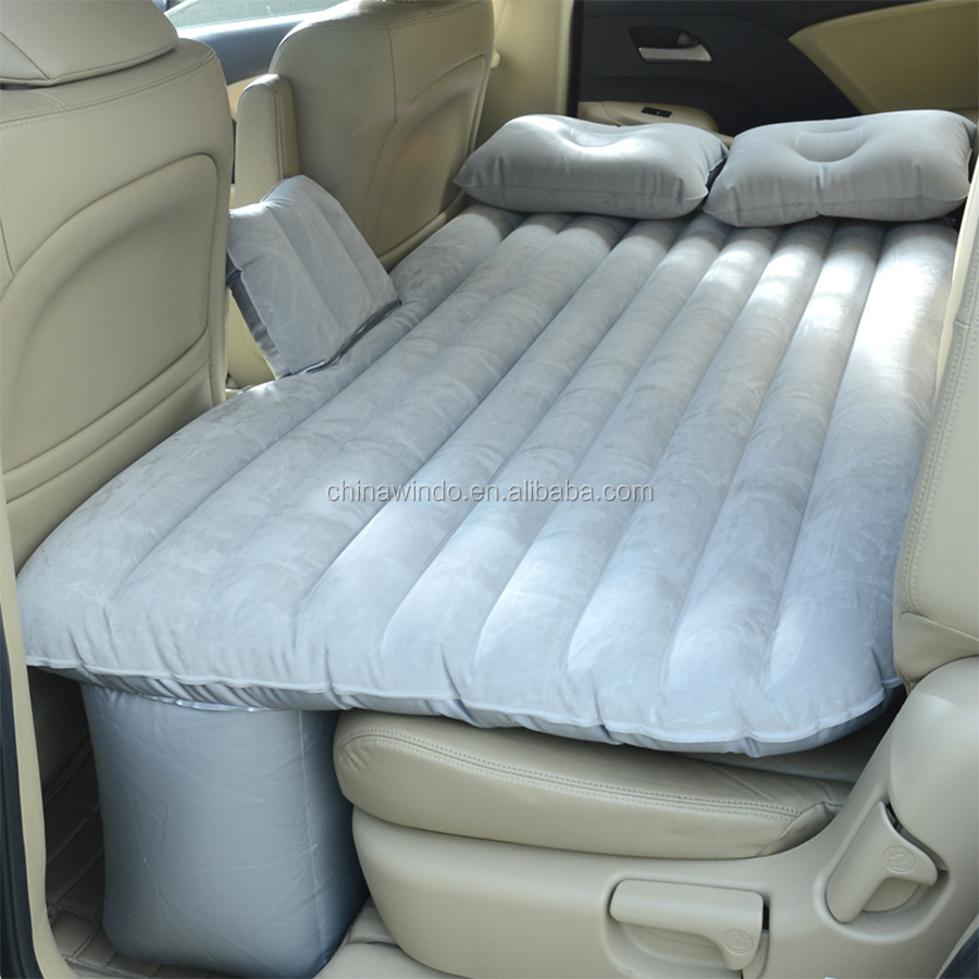 Back Seat Bed 2015 Top Selling Car Back Seat Cover Car Air Mattress Travel Bed