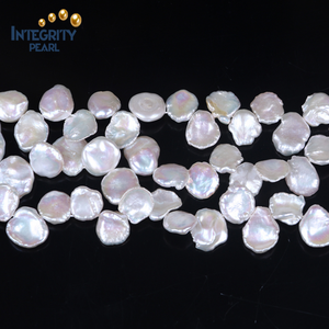 13-15mm natural cultured freshwater Original kehsi pearl strands