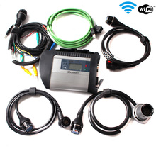 High Quality MB STAR C4 Full Chip with Software HDD V2016-9 Diagnosis Compact 4 SD Connect C4 Scanner Automotivo Diagnostic tool