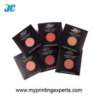 Hot selling paper envelop for single eyeshadows and blush