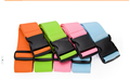 wholesale simple color/pure color luggage strap