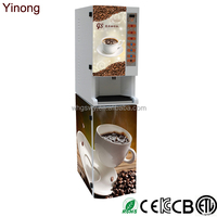 Instant powder cappuccino coffee machine automatic coffee making machine