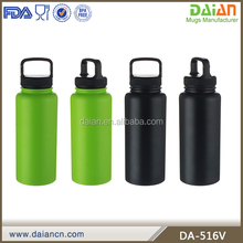 Wholesale stainless steel different types water bottles