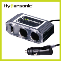 Hypersonic HP2690-3 emergency car battery charger 3100MA cell phone car charger