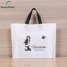 Recycle nylon printed foldable reusable plastic shopping bags with logo