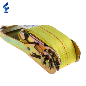 High Quality Factory Price 100% Polyester Ratchet Cargo Lashing Strap With GS Certificated