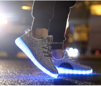 Yeezy style men led shoes manufacturers located in Dongguan , china