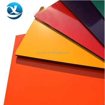 construction building materials ACP aluminum composite panel RAL9006