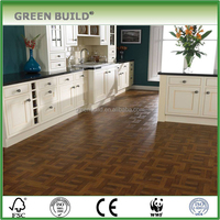 2017 The high quality wood art parquet flooring for kitchen