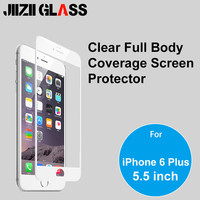 Full Body Coverage HD Clear Anti-Bubble LCD Screen Sticker Protector Film Guard for iPhone 6 Plus 5.5inch