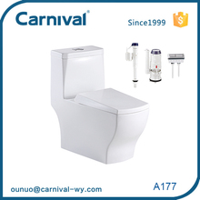 Chinese bathroom ceramic Siphonic s-trap NOM standard wc toilet