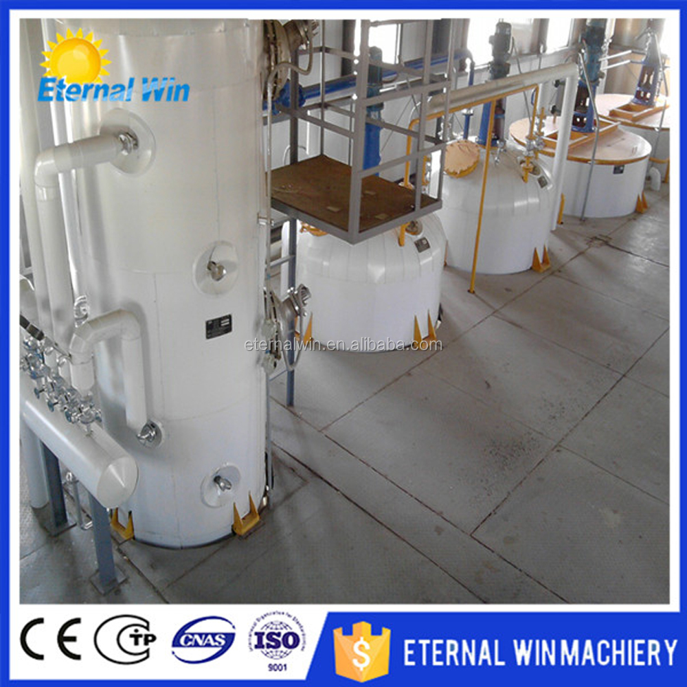 New design crude oil refining machine for peanut sunflower and soybean