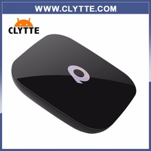 QBox S905x smart TV box Android 6.0 with Europe IPTV package Swedish Italy spanish French USA Russia turkey albania IPTV account