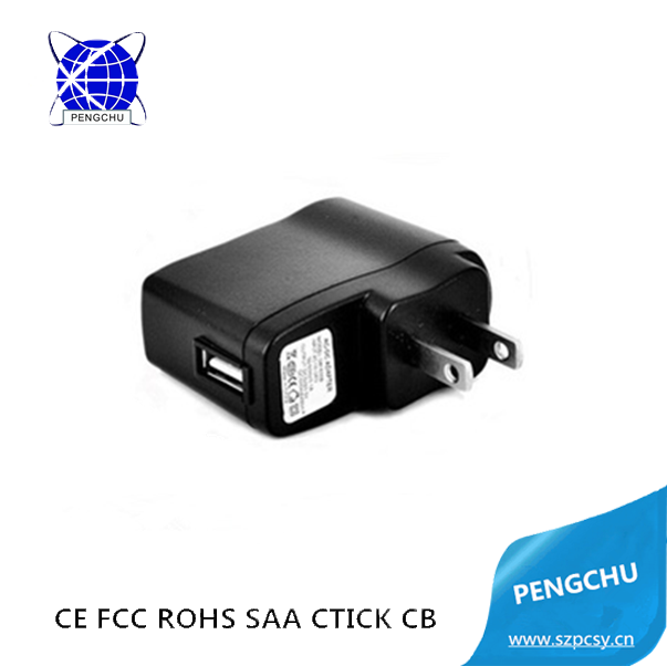 AC 100-240V Wall-mount AC DC Adapter 3V 2A Power Adaptors WIth USB Connector