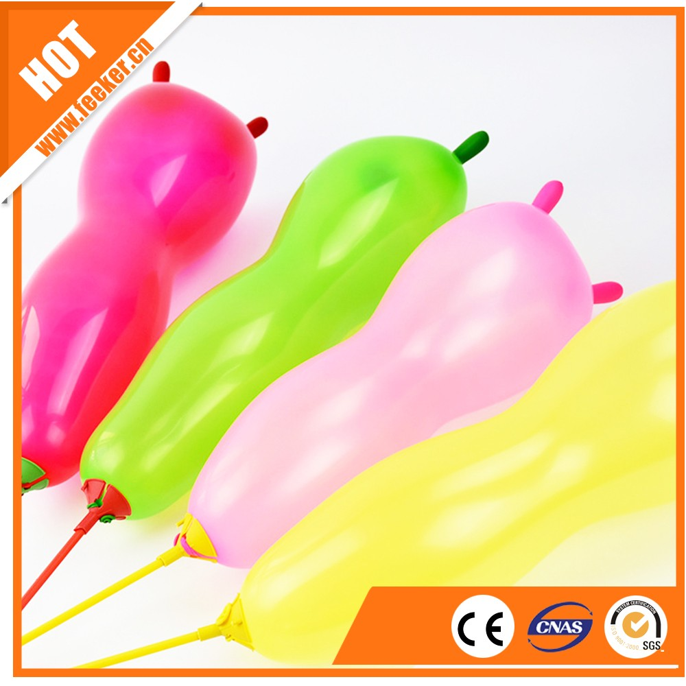 Wholesale balloons EN71 approved 100% cat shaped balloon