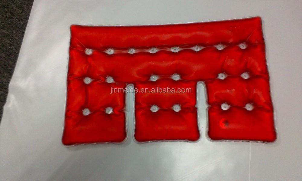 Instant Heat Pack Reusable Gel Heat Pad Magic Heat Gel