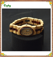 Vogue Fashion Girl Kids Style Wooden Bracelet Watch, girl hand wooden vintage watch women made in china