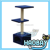 Hot Selling Pet Toy happy pet products scratcher cat tree