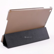 For apple laptop coach case for ipad air smart cover custom leather stand case with factory wholesale price hot selling case