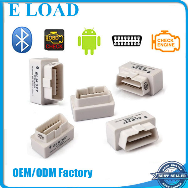 Super Mini bluetooth V1.5 OBDII Adapter Auto Scanner free obd2 software elm327