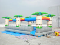Hot sale slip, water slide inflatable game B4072