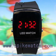 Silicone Kids LED Watches, Mix order LED watches, Put your own logo led watch