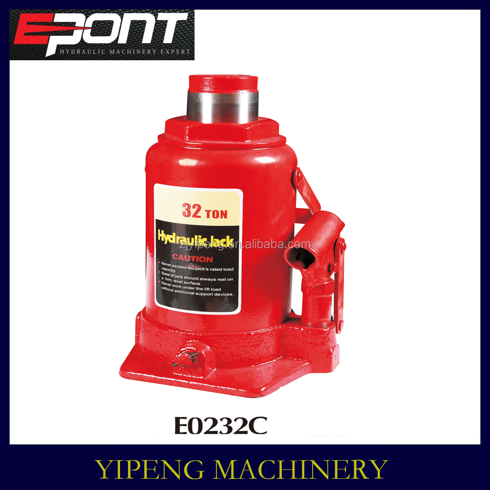 32ton types manual hydraulic car jack manufacturers