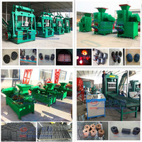BBQ/shisha coconut shell/wood/bamboo charcoal making machine