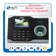 NEW! biometric attendance time register record device terminal system sms sofware machine for attendance leave management U160