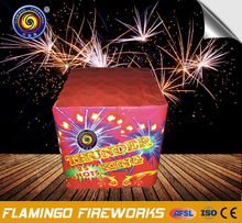 Fashionable design 25S Thunder King display cake fireworks 1.3g 0335