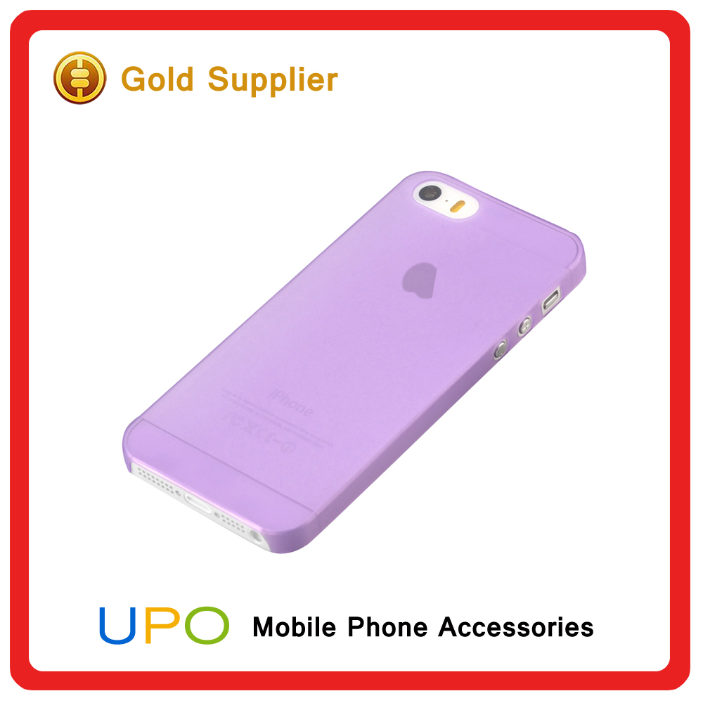 [UPO] Top quality mobile phone accessories,rubberized matte pc case for iphone 5